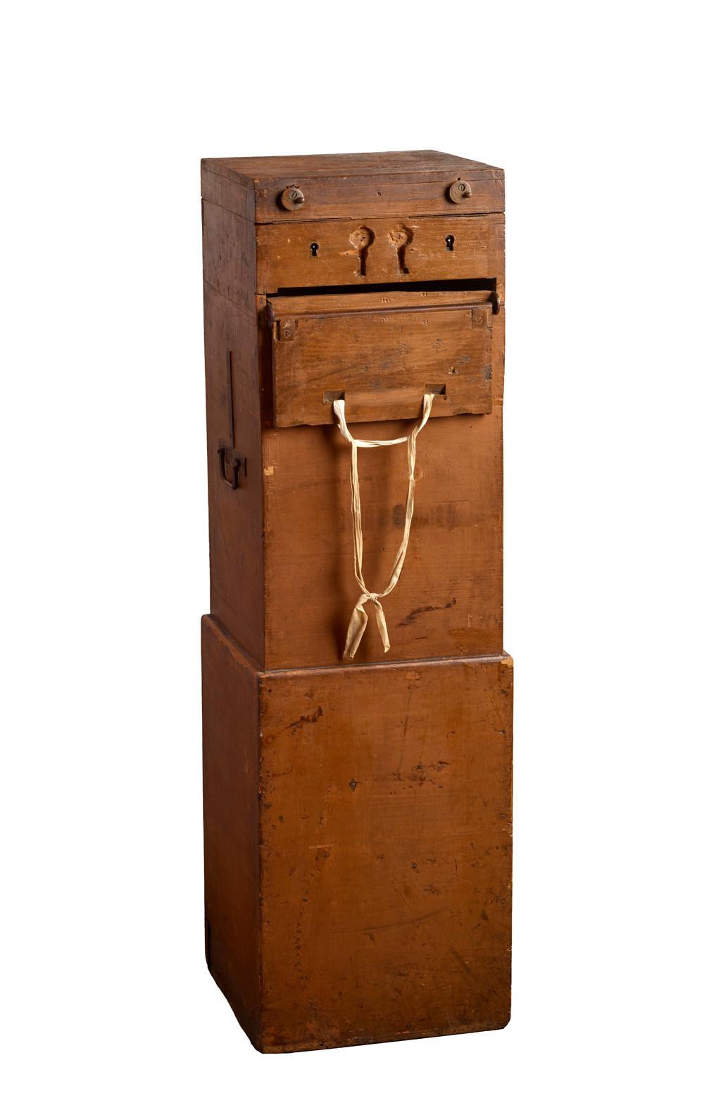 Urne électorale, vers 1930, collection Lëtzebuerg City Museum. (Photo: Lëtzebuerg City Museum)