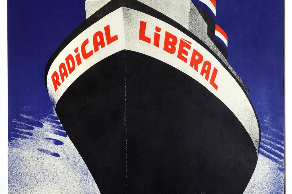 Affiche politique, 1934, auteur: Jean Schaack (1895-1959), collection Lëtzebuerg City Museum. (Photo: Christof Weber)
