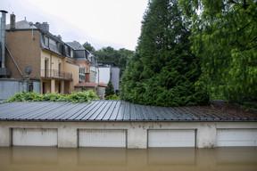 De très nombreux garages sont sous l'eau. ((Photo: Matic Zorman / Maison Moderne))