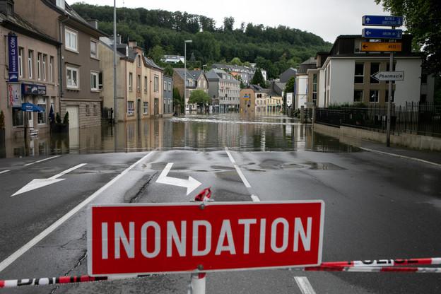 Le point sur les intempéries au Luxembourg, ce vendredi 16 juillet au matin. (Photo: Matic Zorman / Maison Moderne)