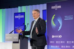 Mathias Cormann, Secretary General of the Organisation for Economic Co-operation and Development (OECD) SIP/LUC DEFLORENNE