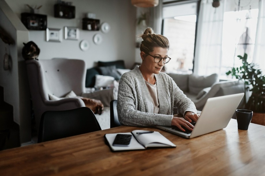 Luxembourg employees worked most of their hours in 2020 with a high rate of people transitioning to remote working Shutterstock