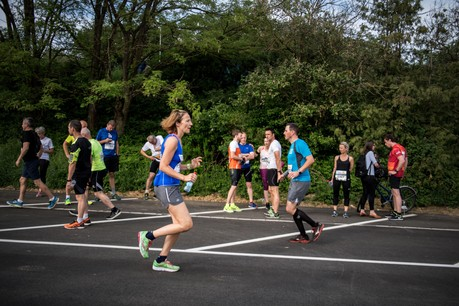 Les femmes sont moins actives physiquement que les hommes au Luxembourg: 59% d'entre elles pratiquent une activité physique, contre 64% chez les hommes. Ici une photo de l'ING Night Marathon 2018. (Photo: Nader Ghavami / Archives)