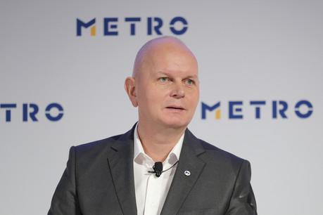 Le CEO de Metro, maison mère de Real, OlafKoch, a indiqué espérer 300millions d'euros de la vente de Real à la société luxembourgeoise d'investissement SCP Group. (Photo: Metro)