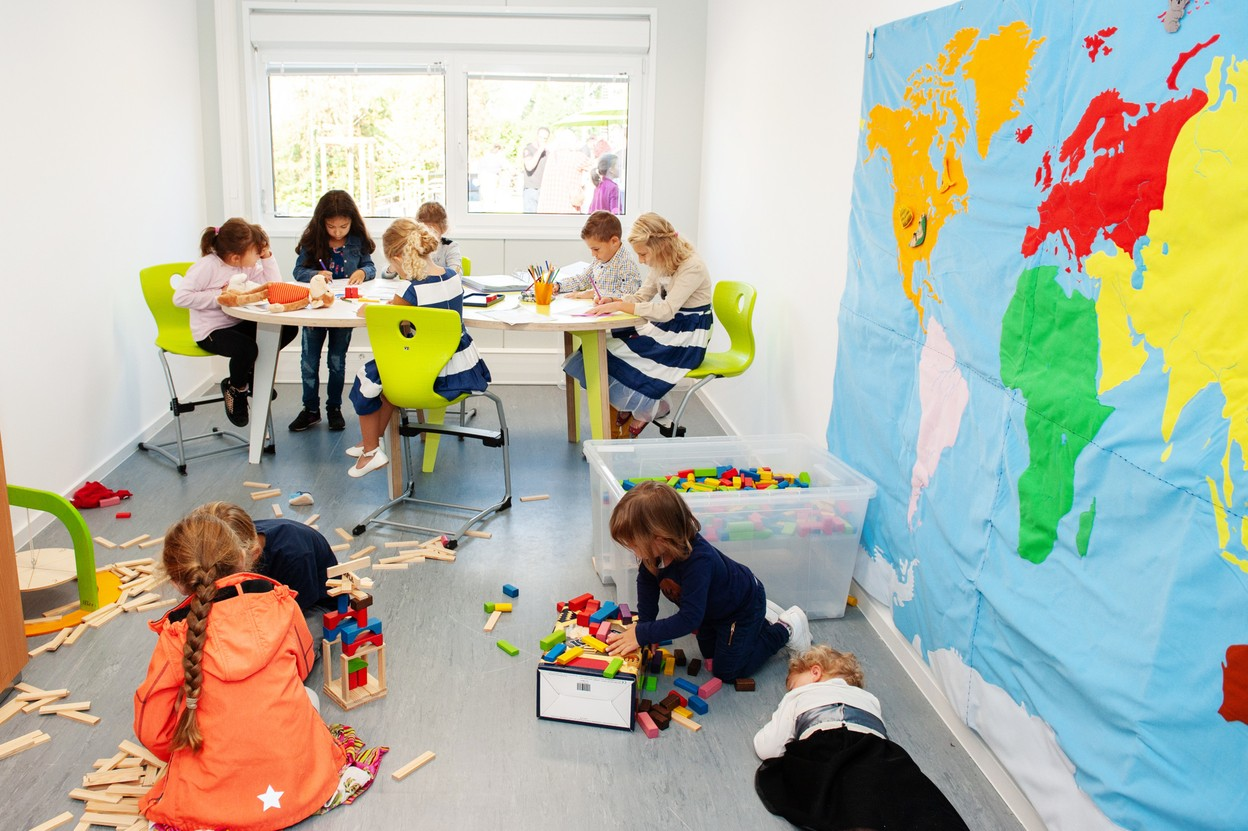 A classroom at the Mondorf international school in 2018 Photo: Keven Erickson / Krystyna Dul /LaLa La Photo