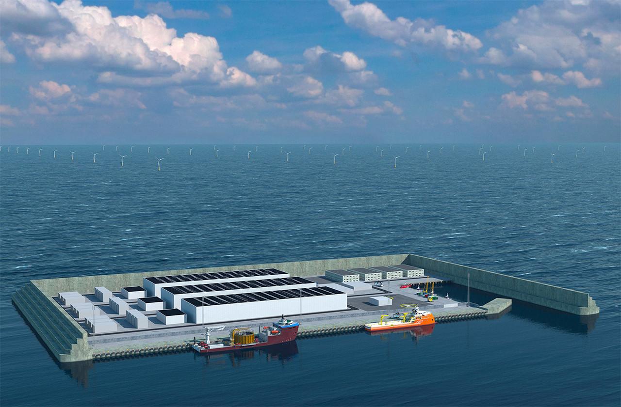 Ces îles artificielles sont une étape jugée essentielle pour atteindre l'objectif européen de neutralité climatique d'ici 2050. (Photo:Danish Ministry of Climate, Energy and Utilities)