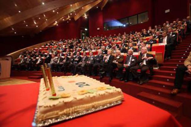 Lundi 22 novembre 2010, LuxEnergie a célébré ses 20 ans. (Photo: LuxEnergie)
