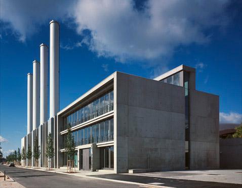 la Centrale de Cogénération et le bâtiment administratif du Kirchberg ont été réalisés par Paul Bretz Architectes. (Photo:Paul Bretz Architectes)