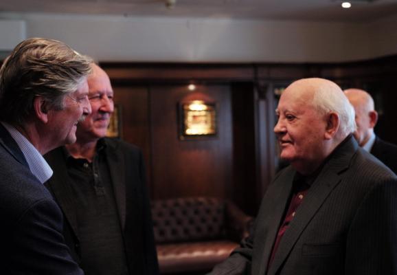 À la rencontre de Mikhaïl Gorbatchev, le dernier président de l'Union soviétique. (Photo: Lena Herzog)