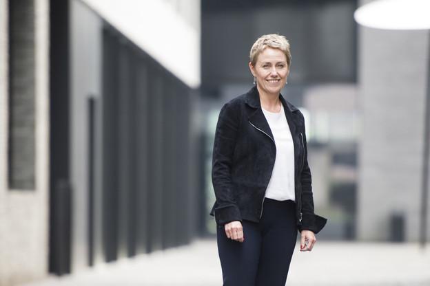 Regarder vers l'avenir – Pour Sasha Baillie, CEO de Luxinnovation, la célébration des 35 ans de l'agence est l'occasion de montrer où l'économie va aller. (Photo: Anthony Dehez/Archives)
