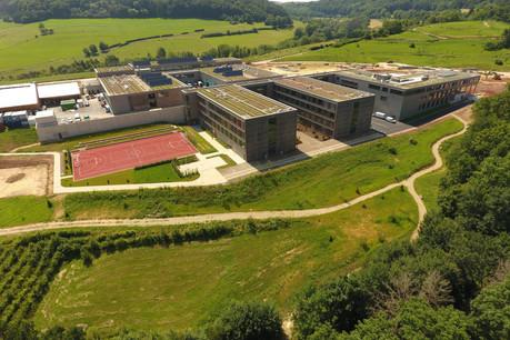 Situé dans la commune de Bettendorf, le Lycée technique agricole est prêt pour la rentrée 2021/2022. (Photo: LTA)