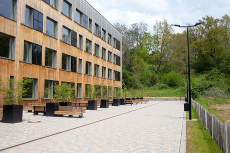 Le Lycée technique pour professions de santé à Ettelbruck. (Photo: Matic Zorman/Maison Moderne)