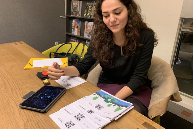 Tahereh Pazouki passera l'examen final de son PhD en psychologie le 22janvier. Le ministère de l'Éducation ne l'a pas attendue, et sa solution, MaGrid, sera implémentée dans 800écoles luxembourgeoises à la rentrée de septembre. (Photo: Paperjam)