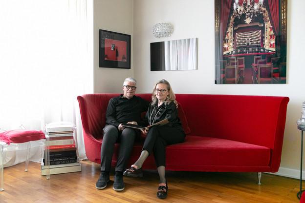 C'est à Luxembourg, dans une maison de 1934, que Carole Chaine et Paul di Felice se sont installés il y a 30ans. (Photo: Matic Zorman/Maison Moderne)