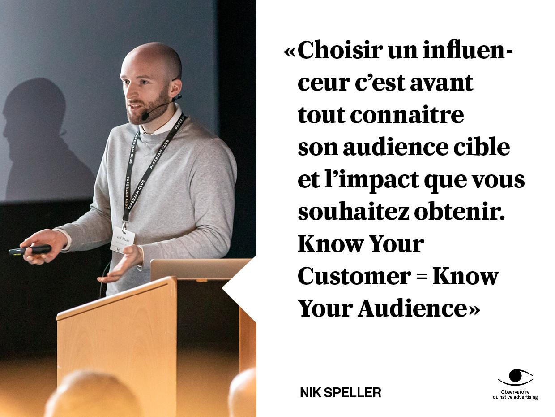 Nik a plus de 10ans d'expérience comme expert du marketing des influenceurs notamment au sein du groupe Havas. (Photo: Maison Moderne)
