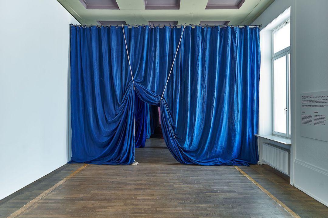L'installation d'Ulla von Brandenburg est incontestablement l'œuvre la plus remarquable de l'exposition. (Photo: Andrés Lejona)
