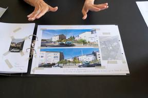 Pour chaque projet, DianeHeirend constitue des cahiers de recherches. ((Photo: Eric Chenal))