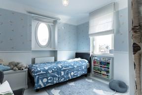 L'une des plus petites chambres, transformée en chambre d'enfant, après la fin des travaux de restauration. ((Photo: Aatika Hayat))
