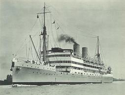 Le paquebot Albertville  ((Photo: Compagnie maritime belge, 1928))