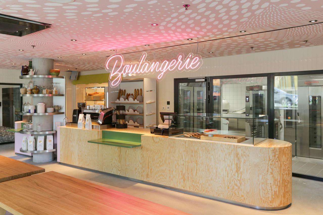 La boulangerie accueillera ses premiers clients en septembre. (Photo: Romain Gamba / Maison Moderne)