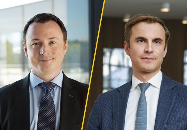 Robert White, Real Estate Partner, et Laurent Capolaghi, Partner, Private Equity Leader, EY Luxembourg.  Ernst & Young Services SA