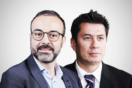 Simon Ramos, Partner, and François-Kim Hugé, Partner, Deloitte (Crédit : Maison Moderne)