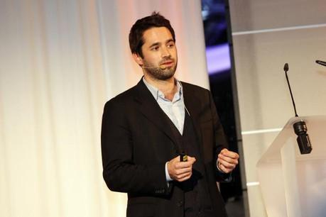 Le CEO de Mangopay, RomainMazeries, a annoncé ce mardi matin une nouvelle étape dans le développement de la fintech luxembourgeoise. (Photo: Archives Paperjam)