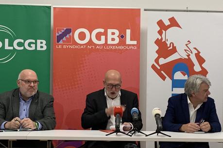 Les trois syndicats représentatifs au niveau national veulent inciter le gouvernement à se positionner. (Photo: Paperjam/archives)