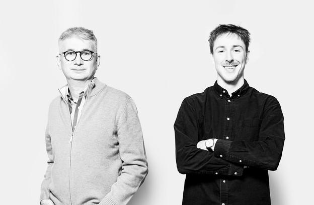 Marc Fassone et Thomas Mangin: les deux derniers renforts arrivés dans la rédaction de Paperjam. (Photos: Maison Moderne)