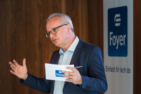 Marc Lauer, CEO de Foyer, explique comment la compagnie gère le contexte actuel. (Photo: Nader Ghavami)