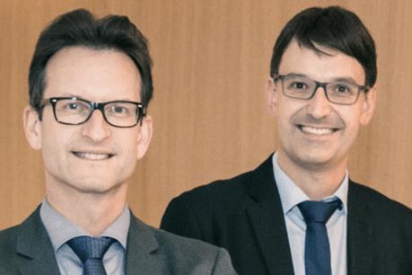 Carlo Thelen (directeur général) et Marc Wagener (COO) de la Chambre de commerce. (Photo: Chambre de commerce)