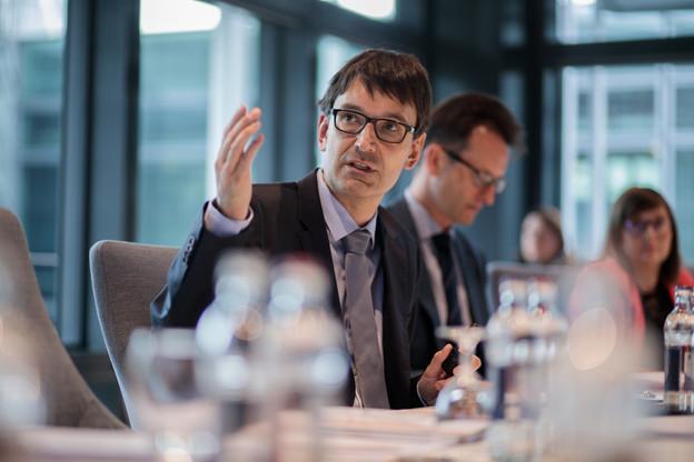 MarcWagener (42ans), par ailleurs chief economist, conservera ses fonctions de COO. (Photo: Matic Zorman/archives Paperjam)