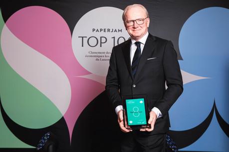 Distinction individuelle, Marcel Leyers voit son classement au Paperjam Top 100 comme la récompense d'un travail mené en équipe. (Photo: Julian Pierrot/Maison Moderne Publishing SA)
