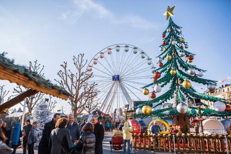 La place de la Constitution est l'un des trois sites retenus pour accueillir les stands du marché de Noël2021. (Photo: Archives Maison Moderne)