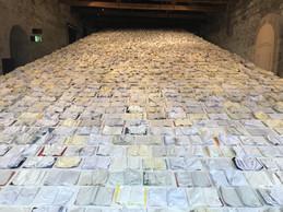 Vue de l'installation «Between Two Waves» ((Photo: Paperjam))
