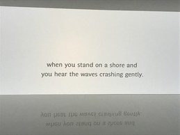 Extrait de la vidéo «A Permanent Sea Inside Us» ((Photo: Paperjam))