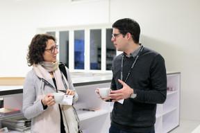 Goizeder Casas Mugica (Ila) et Luis Reding (clc) ((Photo: Matic Zorman))