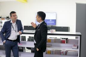 Mike Thomé (Banque De Luxembourg Investments) et Hugo Larguinho Bràs (Reply) ((Photo: Matic Zorman))