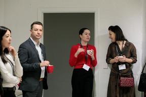 Meriem Badis (Seqvoia), Rachel Featherstun et Sarah Brook (KPMG Luxembourg) ((Photo: Matic Zorman))
