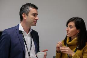 Mike Thomé (Banque De Luxembourg Investments) et Geraldine Gij (Concept Factory) ((Photo: Matic Zorman))