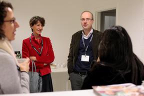 Florence Lemeer Witgens (Look @ Work) et Francois Delvaux (Minds & More) ((Photo: Matic Zorman))