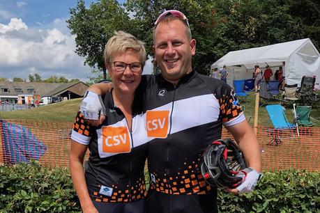 Martine Hansen court beaucoup moins que par le passé, mais elle a trouvé une alternative avec le vélo. (Photo: Martine Hansen)