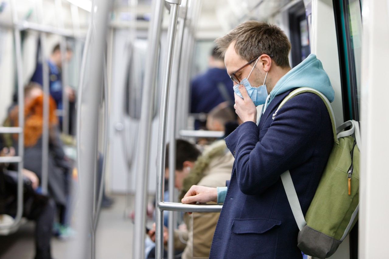 Pas de masque dans les transports en commun, c'est risquer 149 euros d'amende. (Photo: Shutterstock)