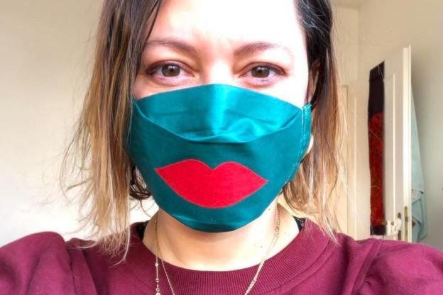 Carmen di Pinto est à l'origine du projet créatif «Mask Attack». (Photo: Mask Attack)