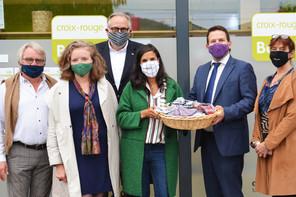 Plus de 28.000 masques réutilisables et produits au Bengladesh ont déjà été vendus par Friendship au Luxembourg. Un joli succès que chacun peut contribuer à faire perdurer. (Photo: Friendship Luxembourg)