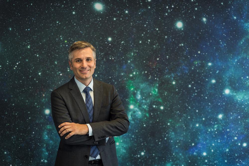 Mathias Link dirigera le développement et les premières activités de l'Esric, ce qui inclut le soutien au recrutement d'un futur directeur. (Photo: Luxembourg Space Agency)