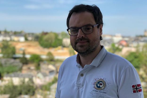 Mathieu fait partie des 1.500personnes du panel établi par TNS Ilres pour étudier la manière dont le virus se propage. (Photo: Paperjam)