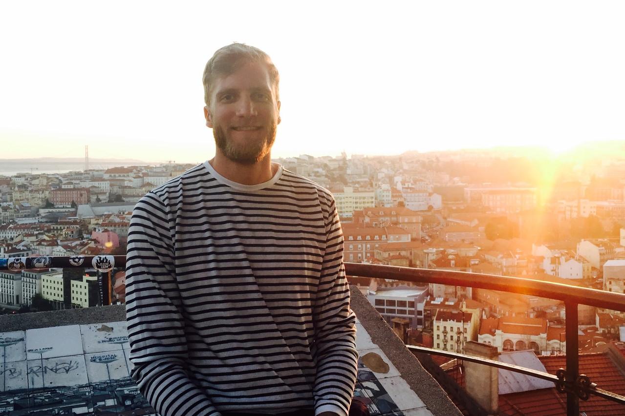 Commercial le jour, basketteur pro le soir, Mathieu Gillardin aime aussi prendre le temps de profiter de la capitale luxembourgeoise. (Photo: Mathieu Gillardin)