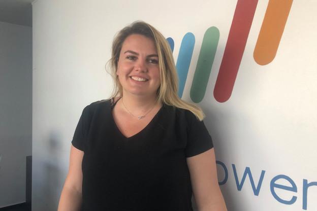 Mathilde Lambin, à la tête du groupe Manpower au Luxembourg depuis novembre 2019, souhaite faire passer plus d'entretiens d'embauche à distance, tout en gardant le contact humain, valeur importante de l'entreprise. (Photo: DR)