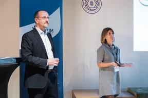 Gérard Sinnes et Antonella Gasparro (Vistim) ((Photo: Patricia Pitsch/Maison Moderne))